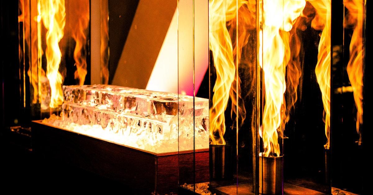 Ice Bar Chicago Vertigo Sky Lounge Thrillist