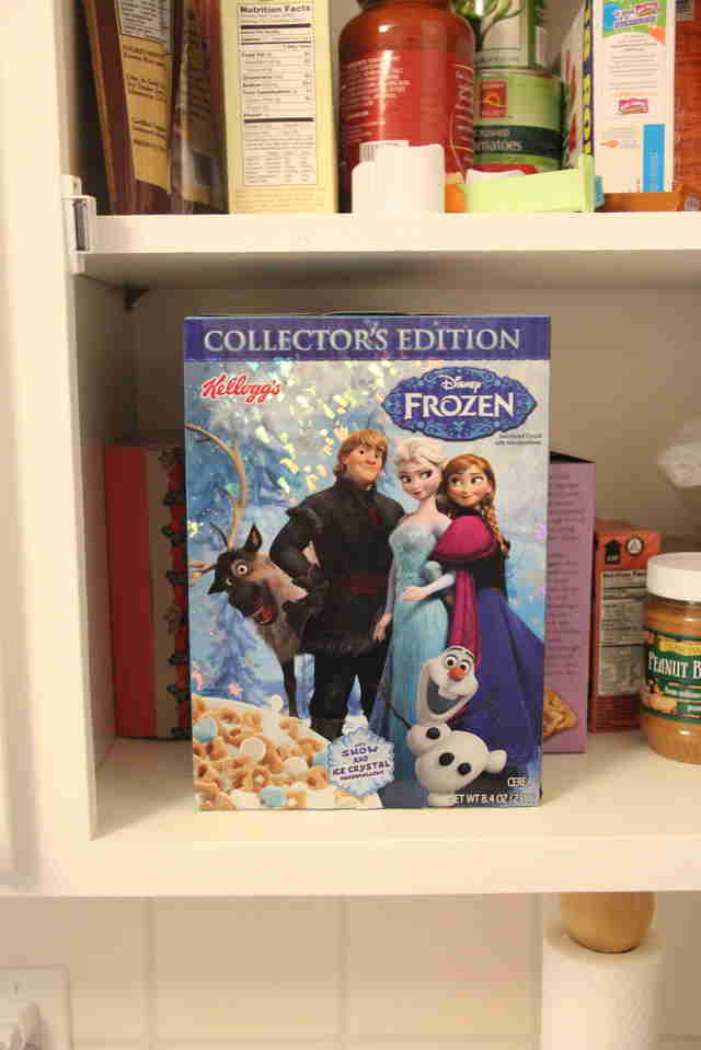 Frozen breakfast cereal
