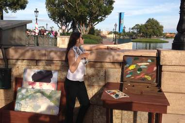France epcot drinking