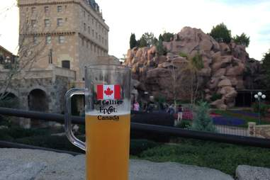 canada epcot drinking