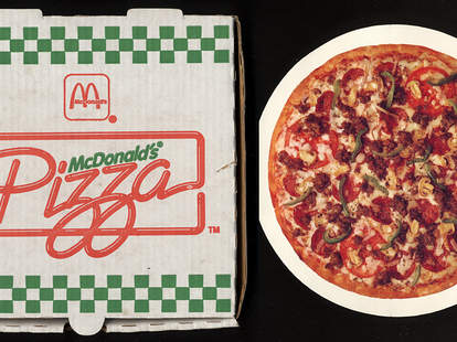 mcpizza box mcdonalds