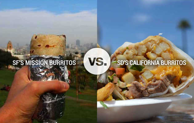 8 Reasons SD California Burritos Are Inferior to SF Mission Burritos