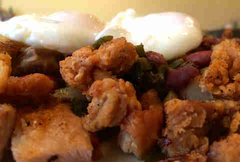 Fried Chicken Hash