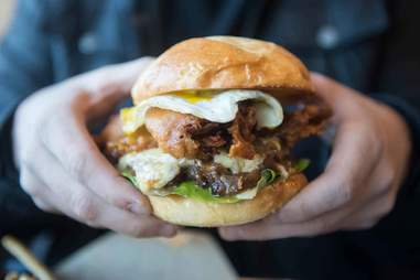 The Rockstar Burger