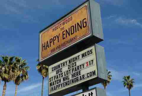the happy ending - los angeles