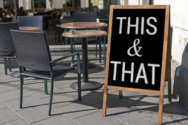restaurant sign stereotype