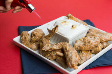 You could even deflate the wings and go boneless. You can't lose (or so we hear).