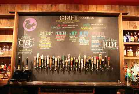 Cottonwood drafts on tap