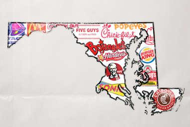 maryland fast food