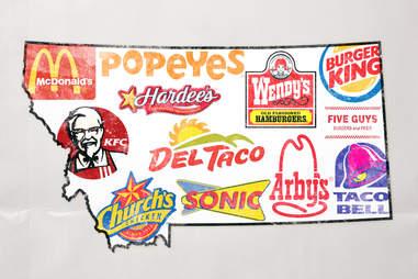 montana fast food