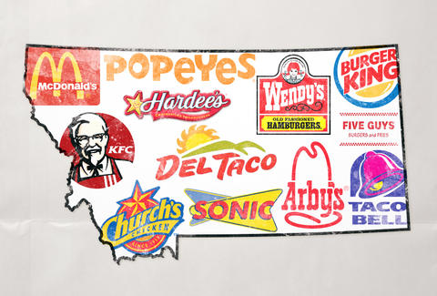 I'm doing a term paper on peoples favorite national fast food chains.?