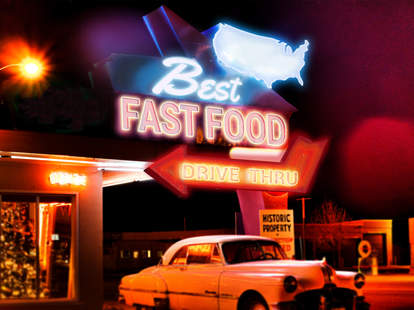 best fast food united states sign
