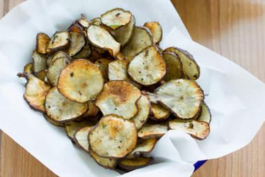 Sunchoke chips
