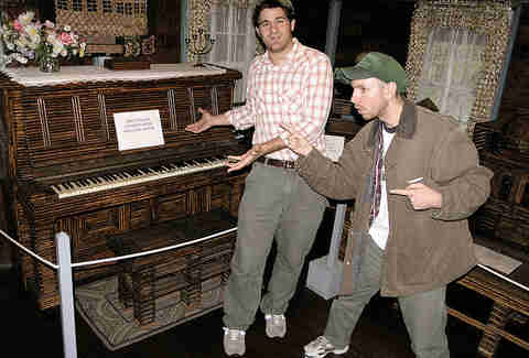 paper house piano