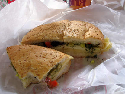 muffaletta from central grocery