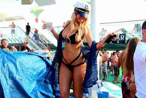 EDM Party Cruise Markus Shulz Ferry Corsten And New World Punkz - Cruise ship naked