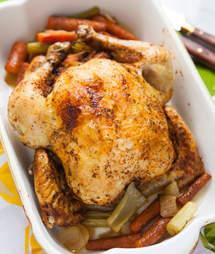 Dry rub chicken