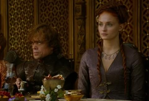 game of thrones wedding feast