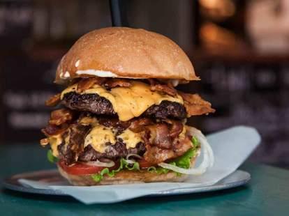 Chef's best burgers