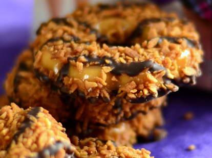 Samoa Girl Scout Cookies