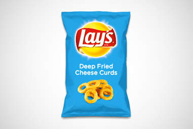 Lay's Do Us a Flavor cheese curds