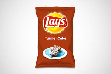 Lay's Do Us a Flavor funnel cake