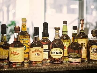 bourbon whiskeys