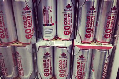 Molson Canadian Cold Shot