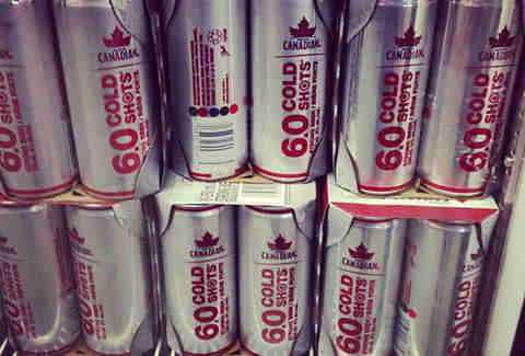 Molson Canadian Cold Shot