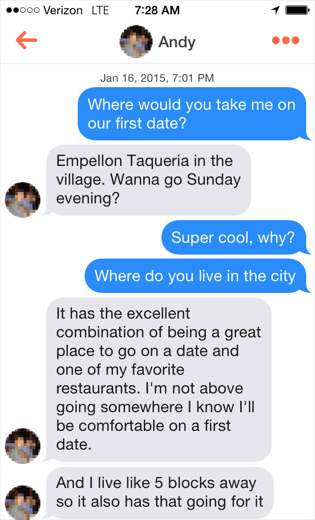 What Happens When You Ask 100 NYC Guys Out On Tinder Dates