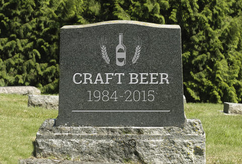 craft beer is dead