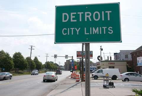 Metro Detroit Traffic Map.The Worst Suburbs In Detroit Thrillist