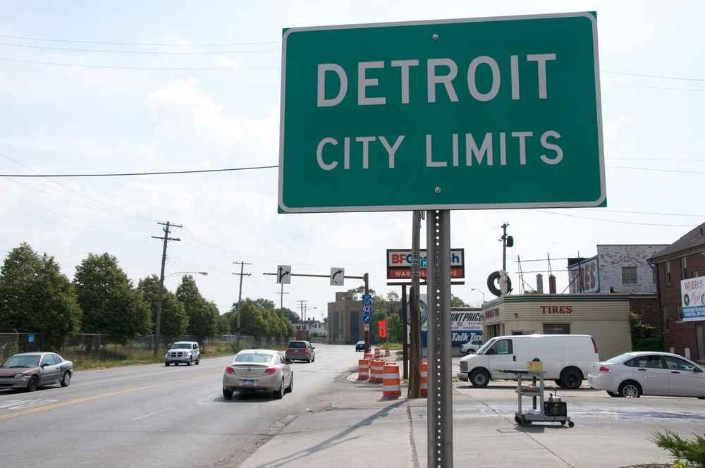 Ferndale Michigan Map.The Worst Suburbs In Detroit Thrillist