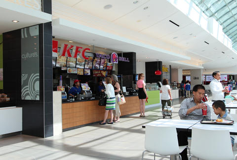 food court mall