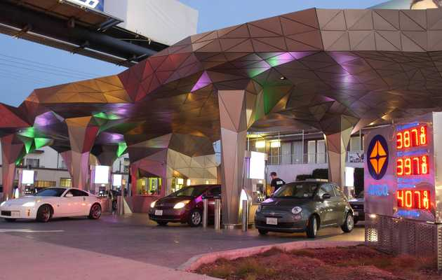 The 12 Coolest Gas Stations in the World