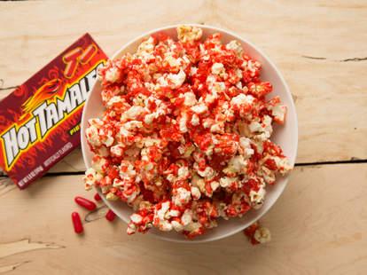 hot tamales popcorn