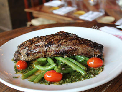 Steak at Lockeland Table