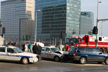 Boston car accident