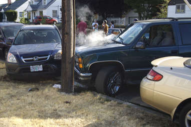 Portland car accident
