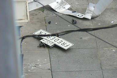 San Francisco car accident