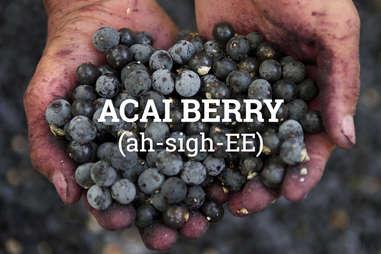 acai berry pronunciation