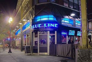 Blue Line Lounge & Grill