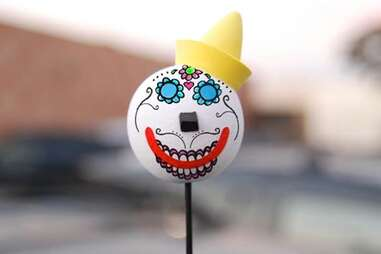 Jack in the Box antenna topper