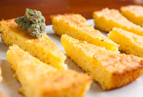 Cannabis Cornbread — Thrillist Recipes