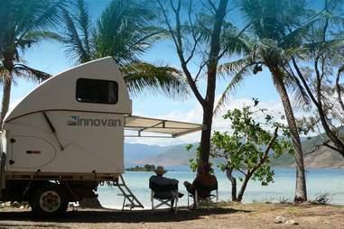 beach trailer