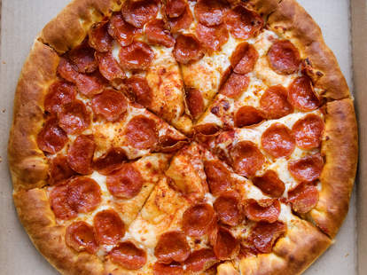 pizza hut pepperoni