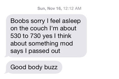stoned text message