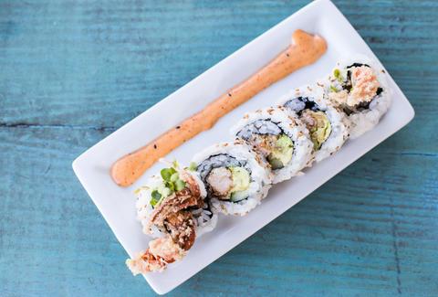 Fattest Sushi Rolls Sushi Rolls By Calorie Thrillist