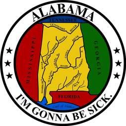 State seal of Alabama