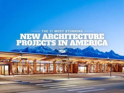 Stunning New American Architecture